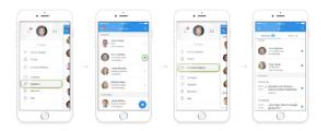 DataFest app notes screen
